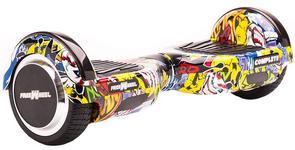 Scooter electric (hoverboard) Freewheel Complete Grafitti Skull, Viteza 15km/h, Autonomie 15 km, Motor 2 x 350W, Bluetooth, Boxe 3W, Roti 6.5 inch (Multicolor)