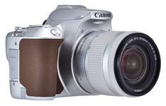 "Aparat Foto D-SLR Canon EOS 250D, 24.1 MP, Ecran 3"" LCD, Filmare 4k + EF-S 18-55 mm (Argintiu)"