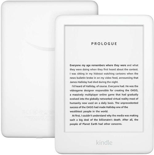 E-Book Reader Amazon Kindle 2019, 6inch, 167ppi, 4GB, Bluetooth, Wi-Fi (Alb)