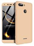 Protectie Spate GKK 360 6972170531971 pentru Xiaomi Redmi 6 (Auriu)