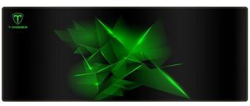 Mousepad T-DAGGER Geometry, L (Negru/Verde)