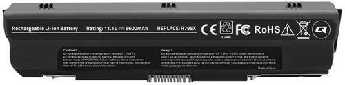 Baterie Laptop Qoltec Long Life 52517.XPS, Li-ion, 6600 mAh imagine evomag.ro 2021