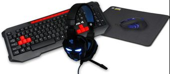 Kit Gaming 4 in 1 iBOX Aurora IZGSET2, USB, Us Layout (Negru)