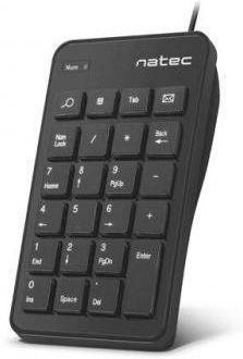 Tastatura Numerica Natec Goby NKL-1333, USB (Negru)