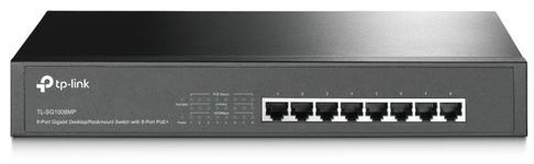 Switch TP-LINK TL-SG1008MP, Gigabit, 8 Porturi, PoE+