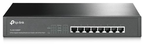 Switch TP-LINK TL-SG1008MP, Gigabit, 8 Porturi, PoE+