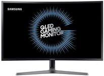"Monitor Gaming VA LED Samsung 31.5"" LC32HG70QQUXE, 2560 x 1440, HDMI, DisplayPort, Pivot, 144 Hz, 1 ms (Negru)"
