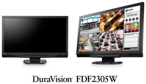 Monitor TN LED EIZO DuraVision 23inch FDF2305W, Full HD (1920 x 1080), VGA, DVI, HDMI, Supraveghere video, Boxe (Negru)