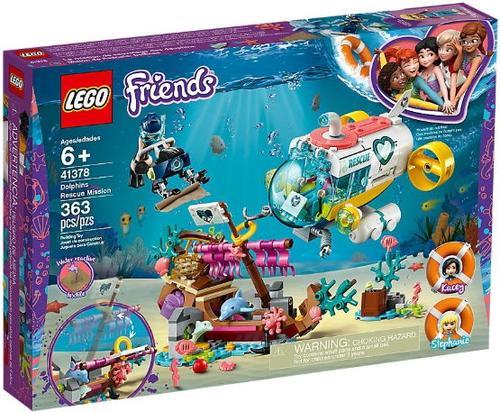 LEGO® Friends Misiunea de salvare a delfinilor 41378