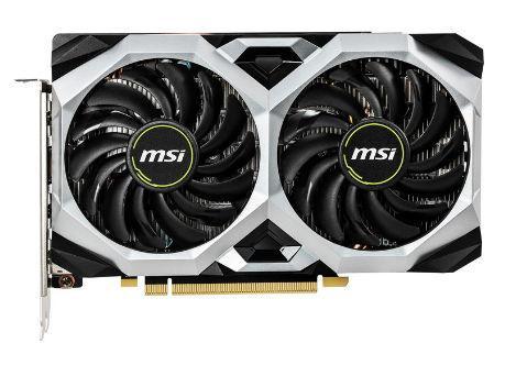 Placa video MSI GeForce GTX 1660 Ti VENTUS XS OC, 6GB, GDDR6, 192-bit