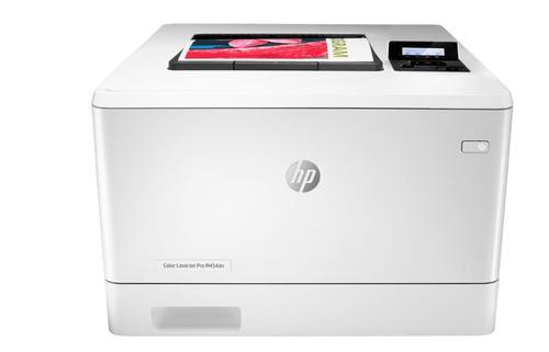Imprimanta laser COLOR HP Color LaserJet Pro M454dn, A4, 27 ppm, Retea (Alb)