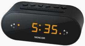 Radio cu ceas Sencor SRC 1100 B (Negru)