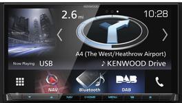 """Sistem de navigatie Kenwood DNX-8170DABS, Ecran tactil 7"""", 16GB Flash, Bluetooth, Harta Full Europa, Actualizarea hartilor 3 ani gratuit"""