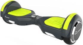 Scooter electric (hoverboard) Skymaster WHEELS EVO 7 SMART LIME GREEN, Viteza maxima 15 Km/h, Autonomie 20 Km (Negru/Galben)