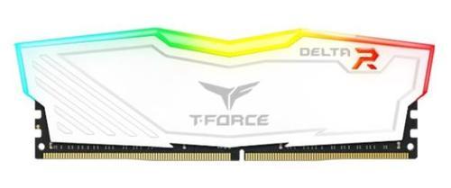 Memorie Team Group Delta RGB, DDR4, 1x8GB, 3000MHz, CL 16 (Alb)