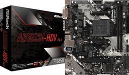 Placa de baza ASRock AB350M-HDV R4.0, AMD B350, AM4, DDR4, mATX