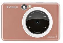 Aparat Foto Digital Canon ZoeMini S, 8MP, Bluetooth, NFC, Tehnologie de imprimare Zink (Rose gold)