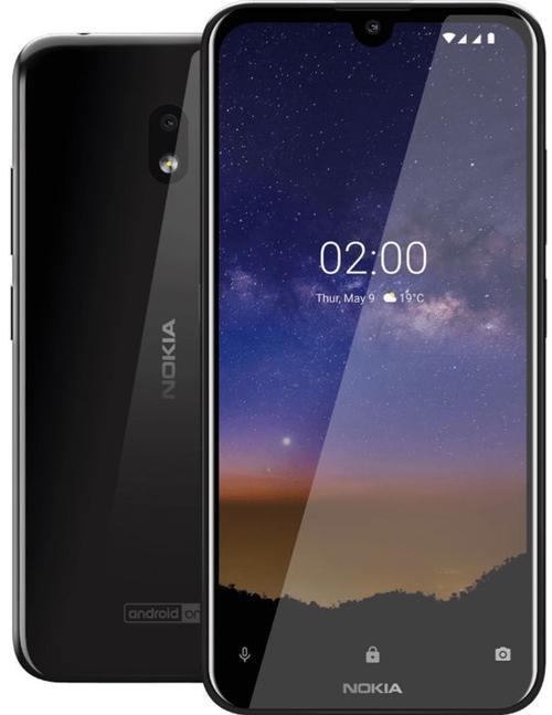 Telefon Mobil Nokia 2.2, Procesor Quad-Core 2.0GHz, Ecran 5.71inch, 2GB RAM, 16GB Flash, 13MP, Wi-Fi, 4G, Dual Sim, Android (Negru)