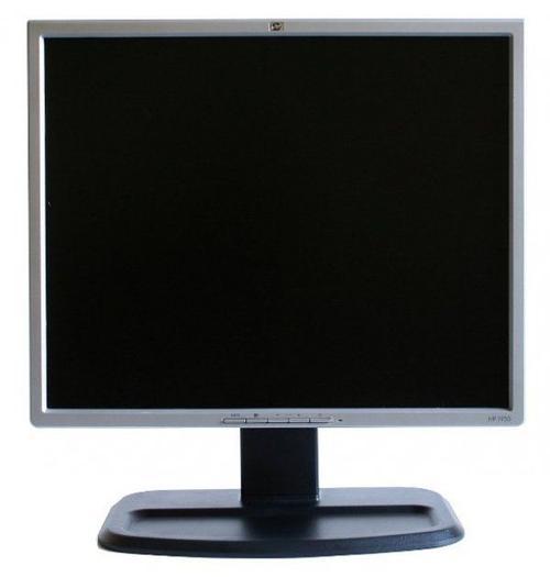 Monitor Refurbished LCD HP 19inch L1955, 1280 x 1024, VGA, DVI, USB, 5 ms (Gri/Negru)