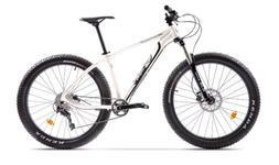 "Bicicleta Pegas Drumuri Grele Pro M, Cadru 17"", Roti 27.5"", 10 Viteze (Alb)"