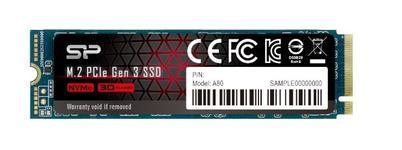 SSD Silicon Power P34A80, 256GB, M.2 2280, PCIe Gen3 x4 NVMe