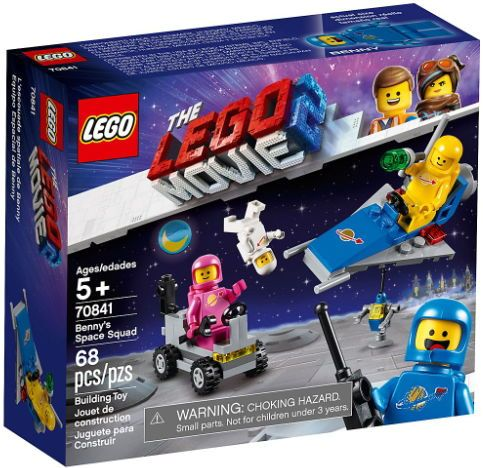 LEGO® Movie Brigada spatiala a lui Benny 70841