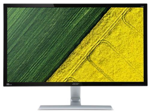 Monitor Gaming TN LED LED Acer 28inch RT280KAbmiipx, UHD (3840 x 2160), HDMI, DisplayPort, Boxe, 1 ms (Negru/Argintiu)