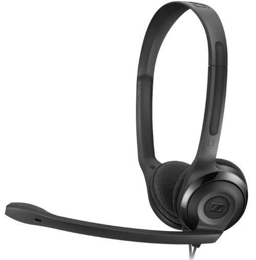 Casti Sennheiser PC 5 CHAT, Microfon (Negru)