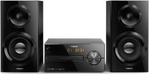 Sistem Audio Philips BTB2570/12, CD/MP3 Player, Bluetooth, Radio FM, 70 W, USB (Negru)