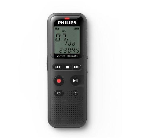 Reportofon digital PHILIPS DVT1150, LCD, 4GB, 1W (Negru)