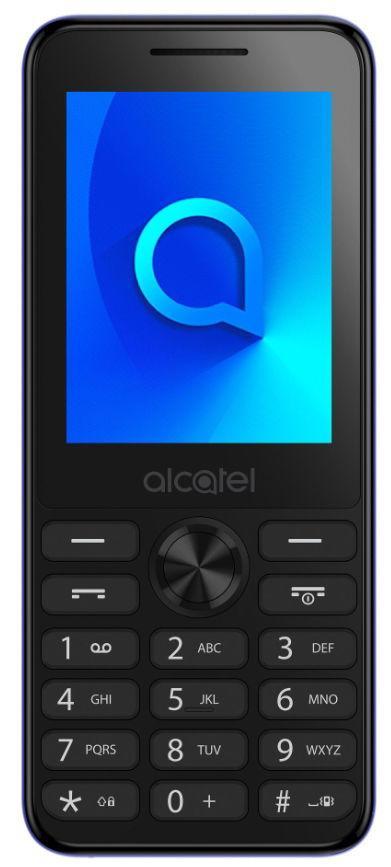 Telefon Mobil Alcatel 2003D, Ecran QVGA 2.4inch, 1.3 MP, Dual Sim (Albastru)