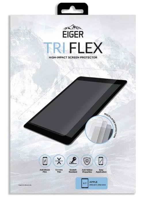 Folie Protectie Tri Flex Eiger EGSP00474 pentru iPad Pro 9.7inch (Transparent)