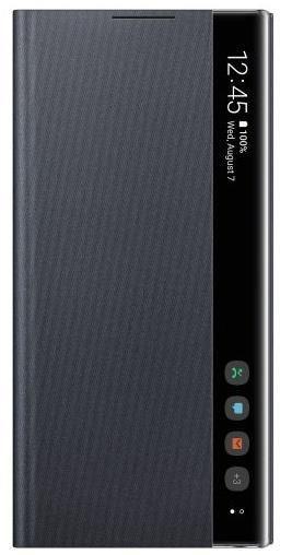 Husa Flip Cover Samsung Clear View EF-ZN970CBEGWW pentru Samsung Galaxy Note 10 (Negru)