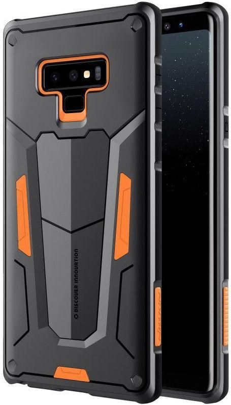 Protectie spate Nillkin Defender II pentru Samsung Galaxy Note 9 (Negru/Portocaliu)