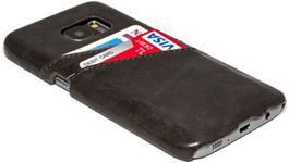 Protectie spate Senno Tailor Leather Wallet pentru Samsung Galaxy S7 Edge (Negru)