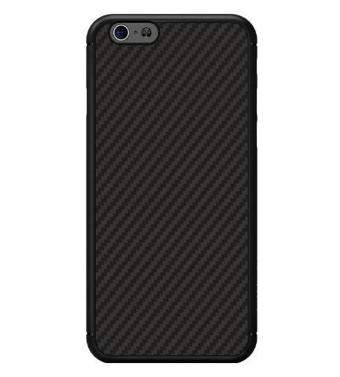 Protectie Spate Nillkin Synthetic Fiber SNNM-BC-NK-SFY-APIP6P-BK pentru Apple iPhone 6 Plus/ 6S Plus (Negru)