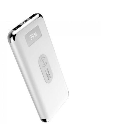 Acumulator extern V-TAC SKU-8854, 10000 mAh, incarcare wireless, Qi, 2 x USB (Alb) - show image 1567760812Nou 21 Acumulator extern V TAC SKU 8854 2C 10000 mAh 2C incarcare wireless 2C Qi 2C 2 x USB  28Alb 29kjl - Acumulator extern V-TAC SKU-8854, 10000 mAh, incarcare wireless, Qi, 2 x USB (Alb)