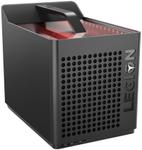 Calculator Sistem PC Lenovo Legion C530 Cube (Procesor Intel® Core™ i5-9400F (9M Cache, up to 4.10 GHz), Coffee Lake, 8GB, 1TB HDD @7200RPM + 256GB SSD, nVidia GeForce GTX 1660 @6GB)