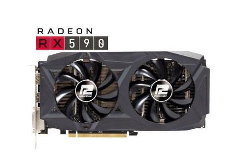 Placa video PowerColor Radeon RX 590 Red Dragon, 8GB, GDDR5, 256-bit