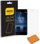 Folie Protectie Sticla Senno Def SE SNNM-SP-SE-NO8-CL pentru Nokia 8 (Transparent)