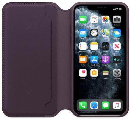 Husa Flip Cover Apple mx092zm/a pentru Apple iPhone 11 Pro Max (Violet)