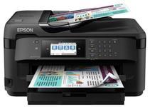 Multifunctional cerneala EPSON WF-7710DWF, color, A3+, Fax, Retea, Wi-Fi (Negru)
