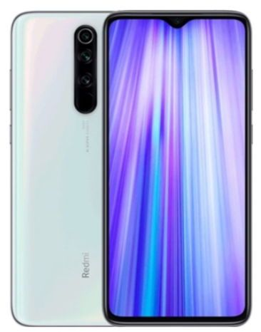 Telefon Mobil Xiaomi Redmi Note 8 Pro, Procesor Octa-Core 2.05/2.0GHz, IPS LCD Capacitive touchscreen 6.53inch, 6GB RAM, 64GB Flash, Camera Quad 64 + 8 + 2 + 2 MP, 4G, Wi-Fi, Dual SIM, Android (Alb)