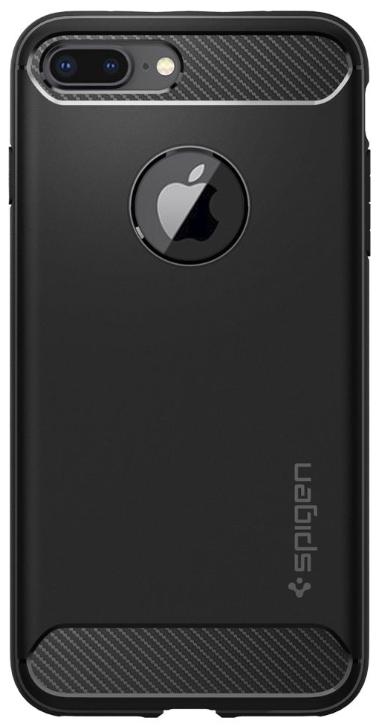 Protectie Spate Spigen Rugged Armor 043CS20485 pentru iPhone 8 Plus / 7 Plus Black (Negru)