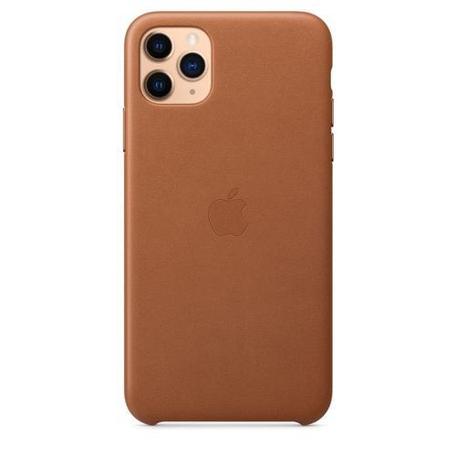 Protectie Spate Apple MX0D2ZM/A pentru Apple iPhone 11 Pro Max (Maro)