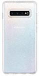 Protectie Spate Spigen Liquid Crystal Glitter Crystal Quartz 606CS25762 pentru Samsung Galaxy S10 Plus G975 (Transparent/Argintiu)
