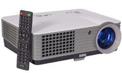 "Videoproiector LTC VP2000, 800x480, 2000lm, contrast 1000:1, focalizare manuala, format 16:9 si 4:3, ecran LCD TFT 5"", telecomanda IR"
