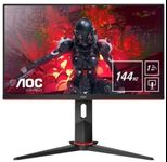 "Monitor Gaming IPS LED AOC 27"" 27G2U/BK, Full HD (1920 x 1080), HDMI, DisplayPort, USB 3.0, Boxe, Pivot, 144 Hz, 1 ms (Negru)"