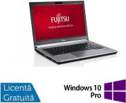 "Laptop Refurbished Fujitsu Siemens Lifebook E734 (Procesor Intel® Core™ i5-4200M (3M Cache, up to 3.10 GHz), Haswell, 13.3"", 8GB, 120GB SSD, Intel® HD Graphics 4600, Win10 Pro, Negru)"