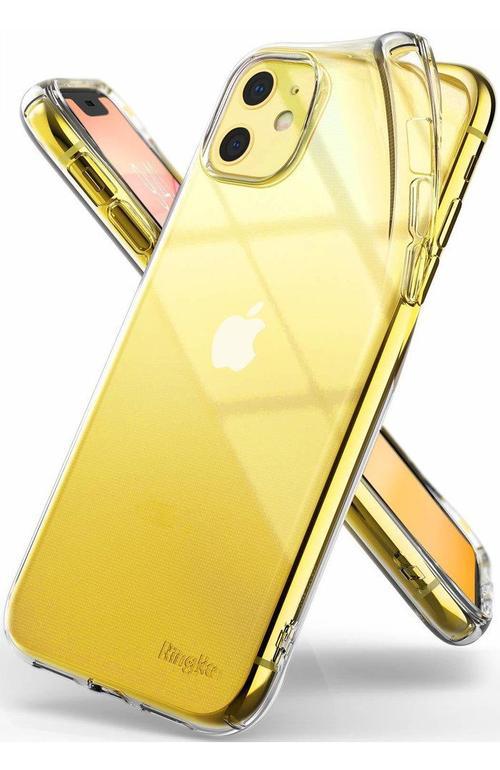 Protectie Spate Ringke Fusion pentru Apple iPhone 11 (Transparent)